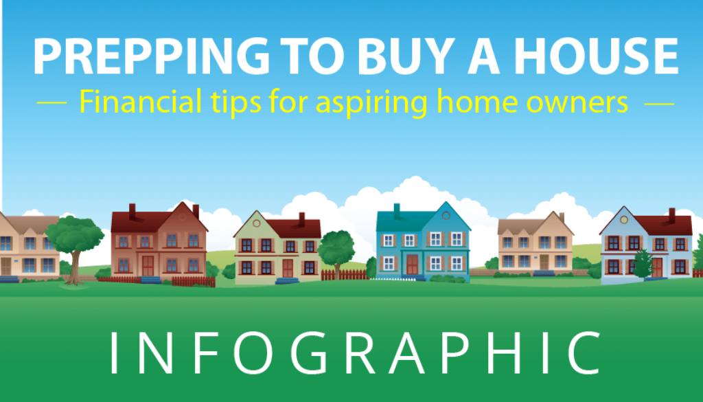 Prepping to Buy A House Infographic Featured Image
