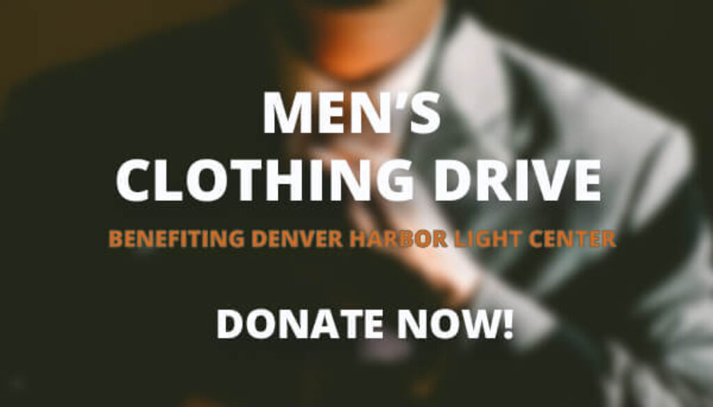 #AtlasGivesBack Men's Clothing Drive Featured Image