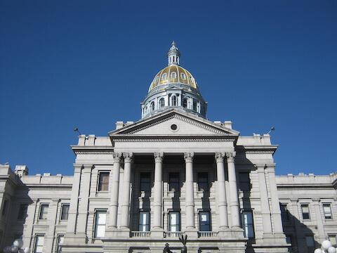 Denver's Capital Building Image