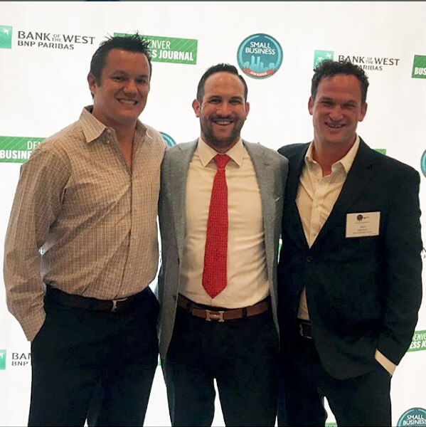 Atlas Real Estate Group Finalist in Denver Business Journal Small Business Awards Group Photo