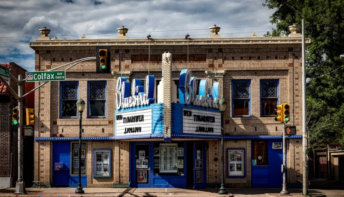 Denver's Bluebird Theatre on Colfax