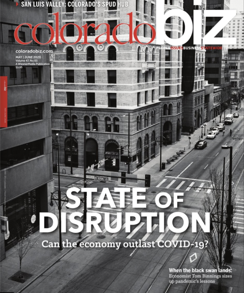 ColoradoBiz Magazine May/June Issue 2020