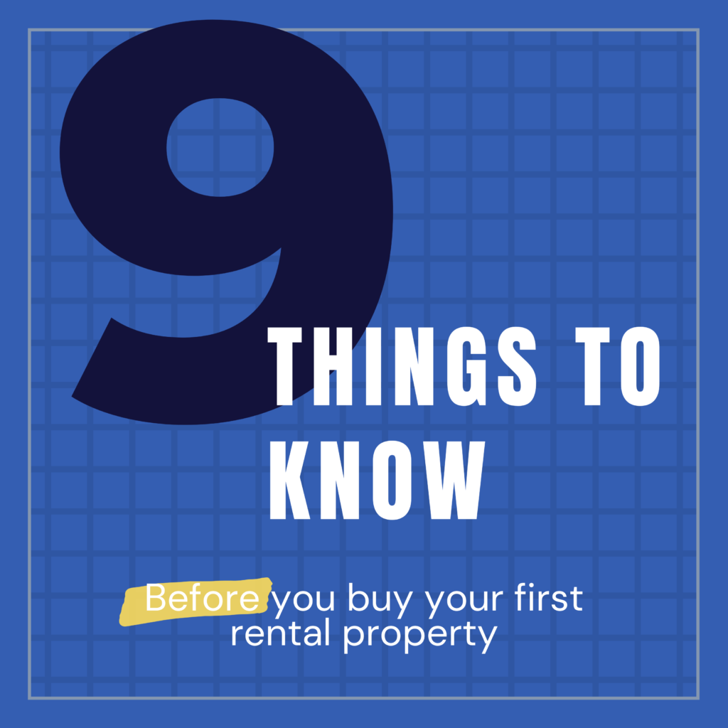 9 things to know before buying an investment property