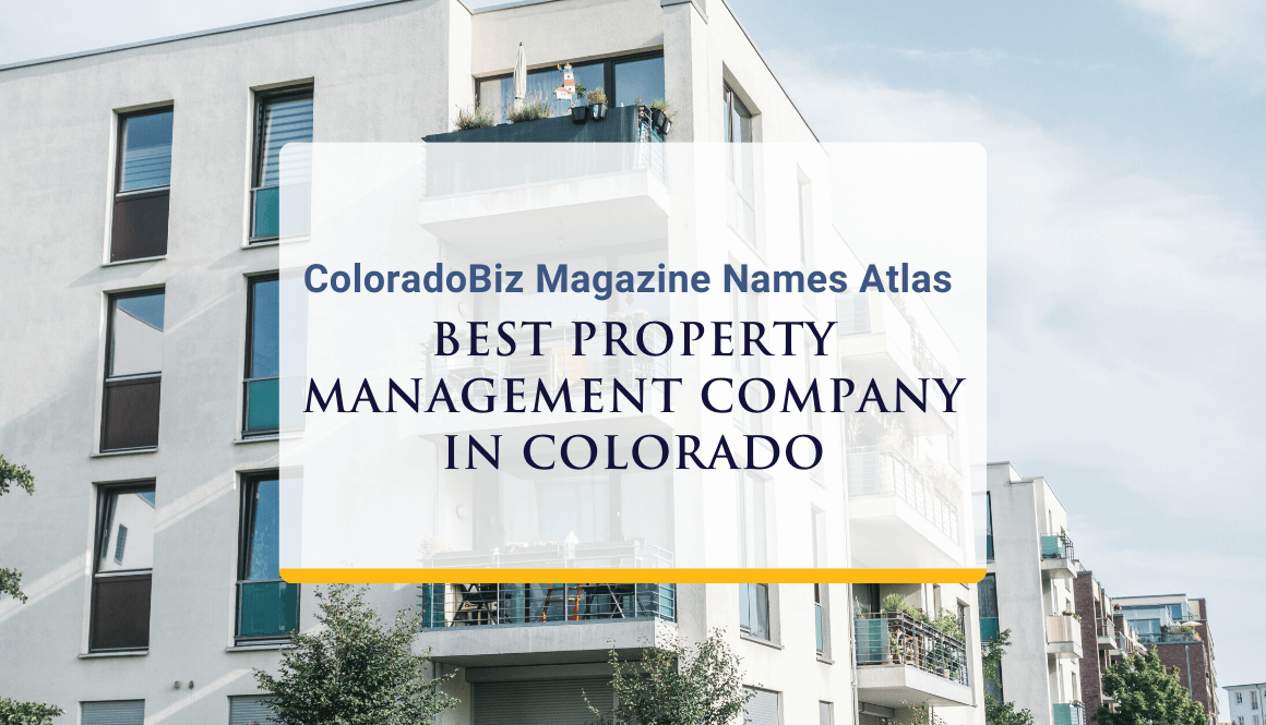 ColoradoBiz Magazine Recognizes Atlas as Best Property Management Company in Colorado
