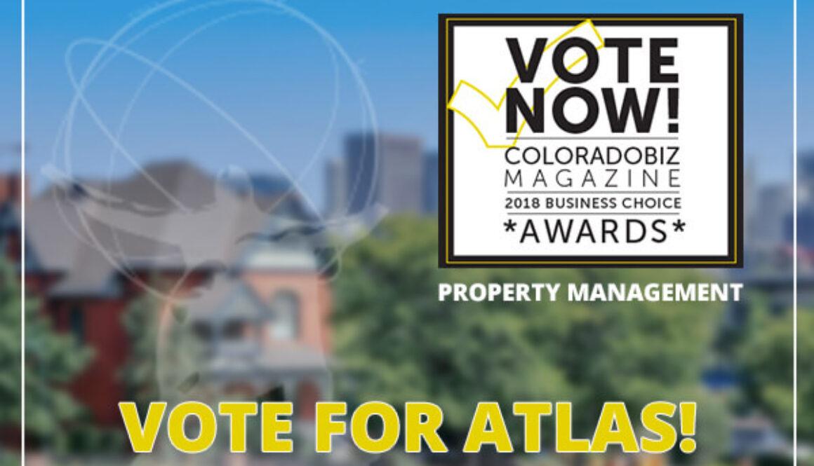 ColoradoBiz Magazine Best of Colorado Vote Now Header