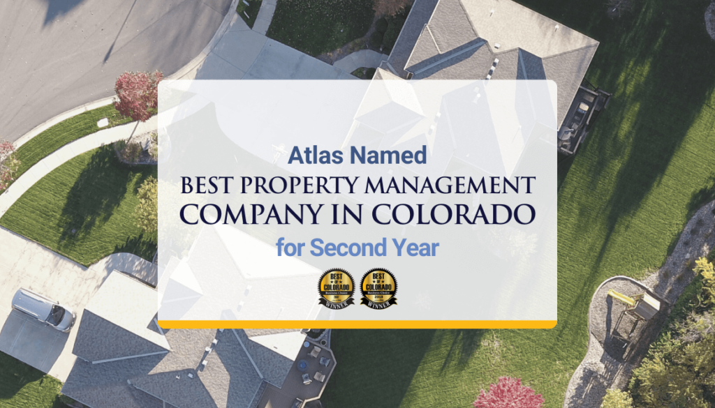 Atlas Named Best Property Mnagement Company in Colorado For Second Year