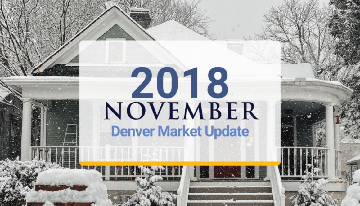 2018 Denver Market Update: November 2018