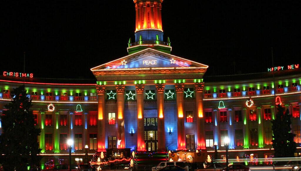 Denver Colorado Holiday Lights Display