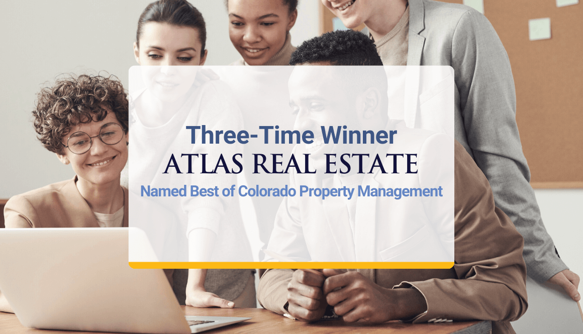 Three-Time Winner Atlas Real Estate Group Named Best of Colorado Property Management