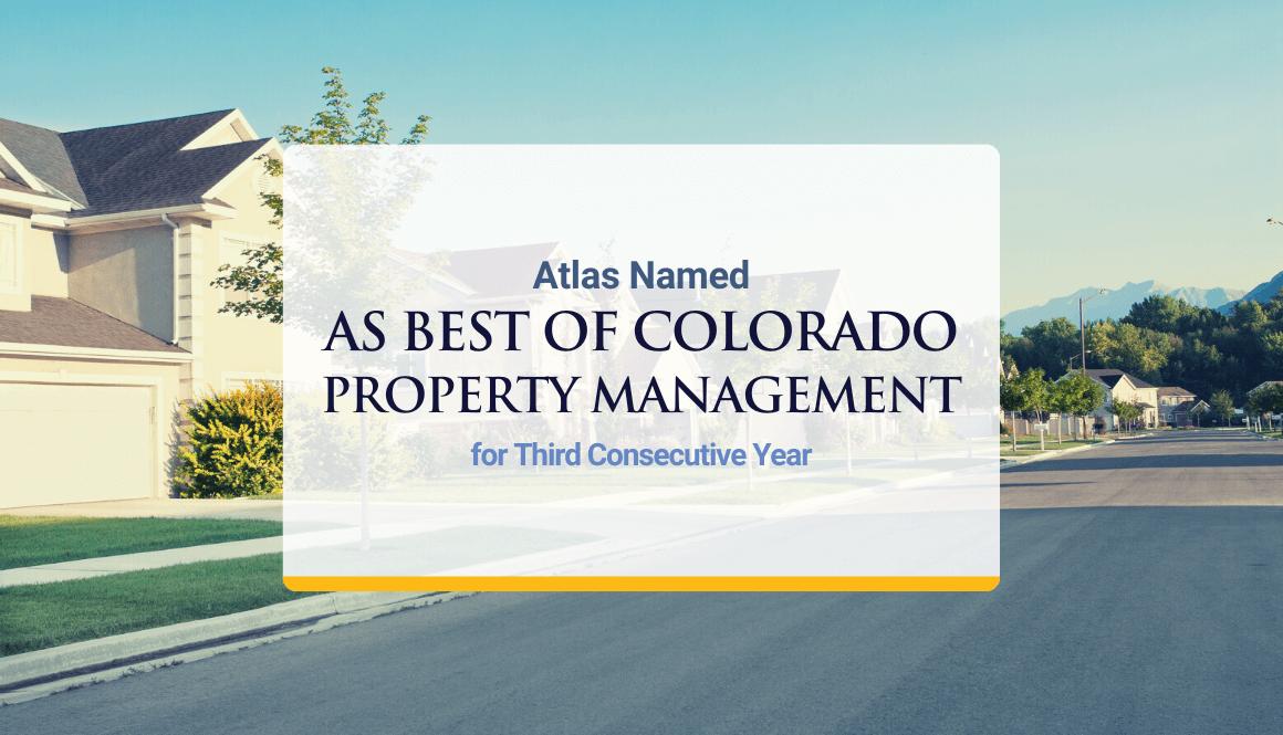 Best Colorado Property Managment