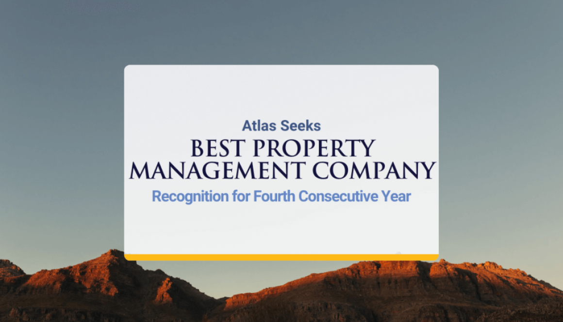 """Atlas Seeks """"Best Property Management Company"""" Recognition for Fourth Consecutive Year"""