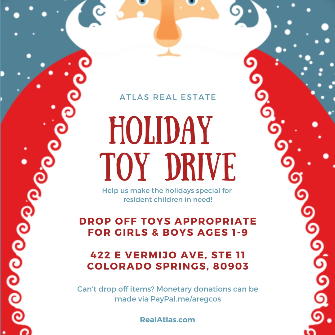 Atlas Holiday Toy Drive 2019