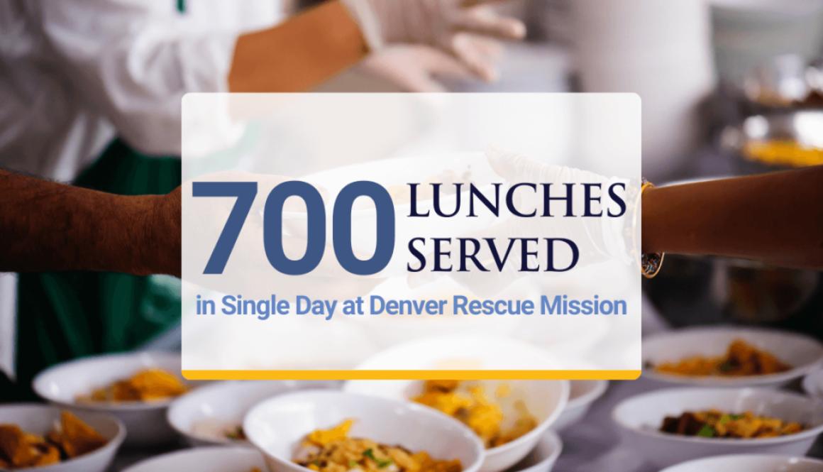 Atlas Volunteers at Denver rescue mission