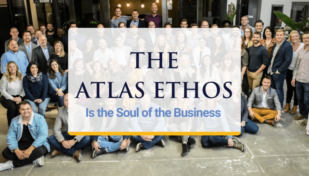 """The Atlas Ethos """"good for you, good for me, good for everything"""""""