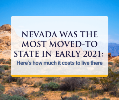 How much it costs to live in Nevada