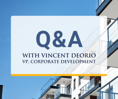 Q&A with Vincent Deorio