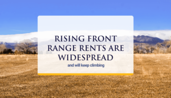 rents rising across the front range