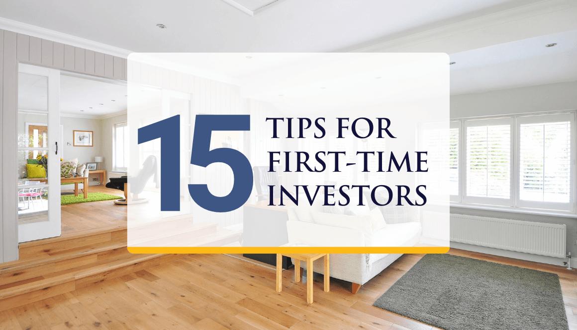 15 Tips for Real Estate Investors