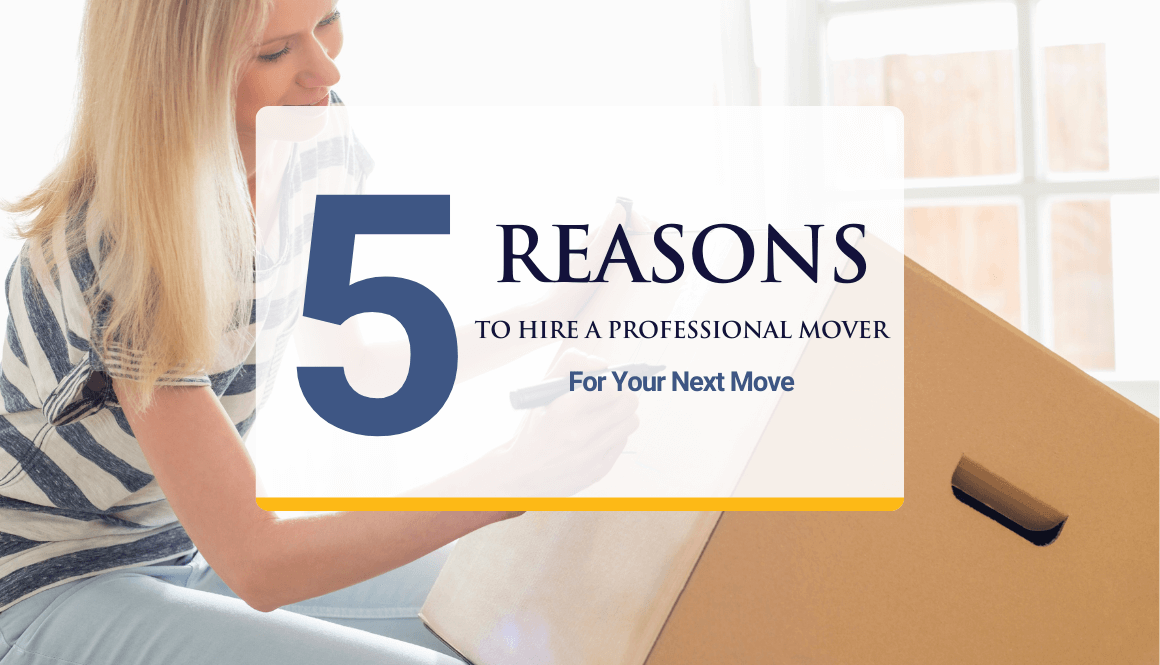 Hire professionals for your next move